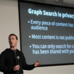"Facebook CEO Zuckerberg introduces a new feature called ""Graph Search"" during a media event at the company's headquarters in Menlo Park, California"