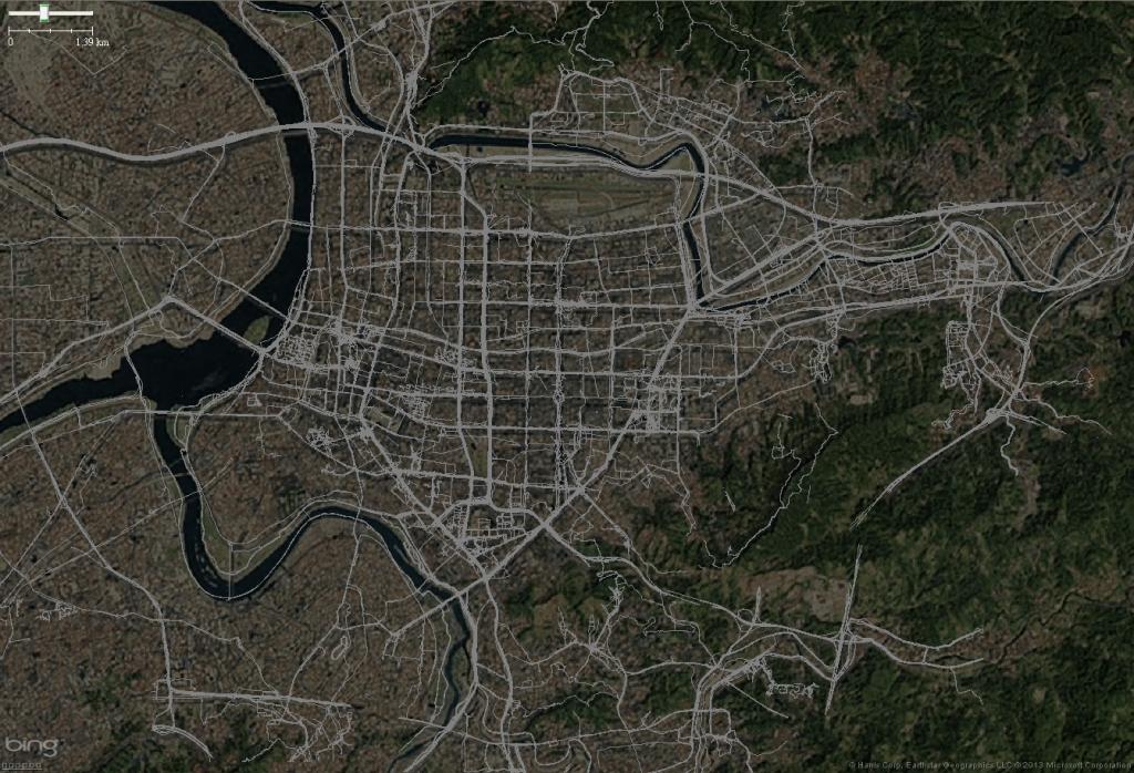 GPS-trace