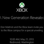 新世代 XBox 5 月 21 日到來