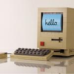 用樂高打造自有的經典蘋果電腦