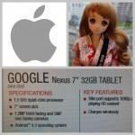 網摘-Nexus 7 第二代可無線充電/蘋果財報即將上場/超萌智慧娃娃現身