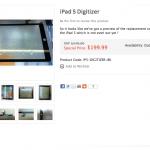 iPad 5 正面觸控玻璃零件現身
