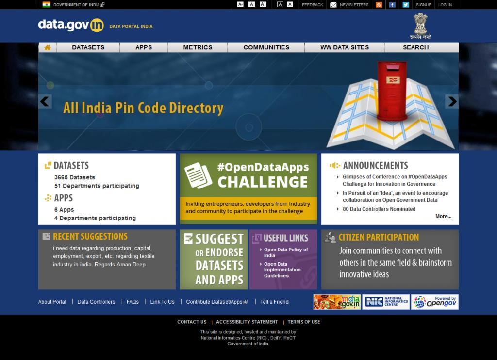 data-portal-india