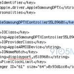 三星代工的 A7 處理器資訊現身 iOS 7