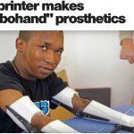 南非斷指木匠,開發 3D 列印機械義手