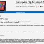 微軟搶蘋果用戶,iPad 可換 200 美元微軟禮品卡