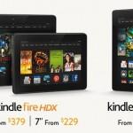 Amazon 推兩款 Kindle Fire HDX,6 吋手機明年推出