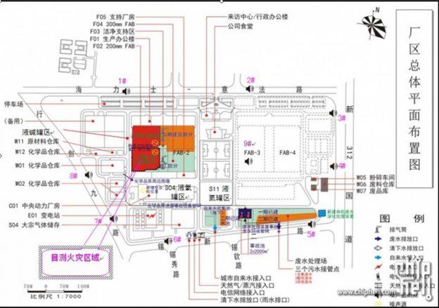 hynix_wuxi_map