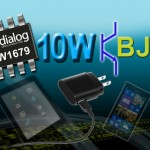 DIALOG SEMICONDUCTOR PWM 控制器可降低智慧型手機電源的 BOM 成本和待機電源