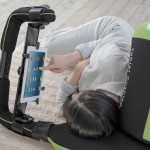 正躺側躺都行,懶人救星躺著打平板專用枕