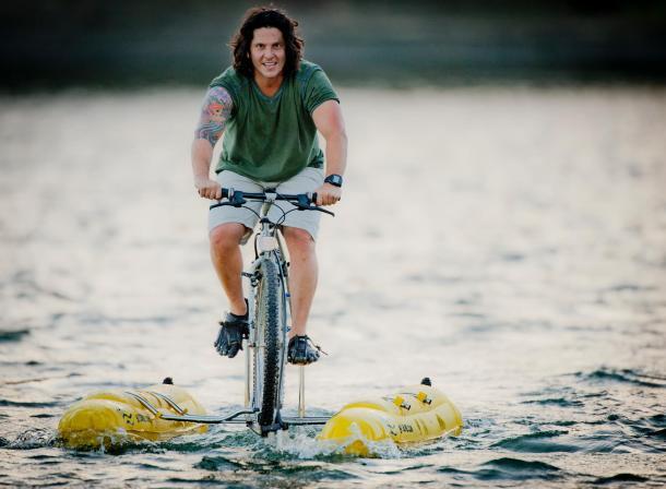 BayCycle 讓你騎著腳踏車「輕功水上飄」