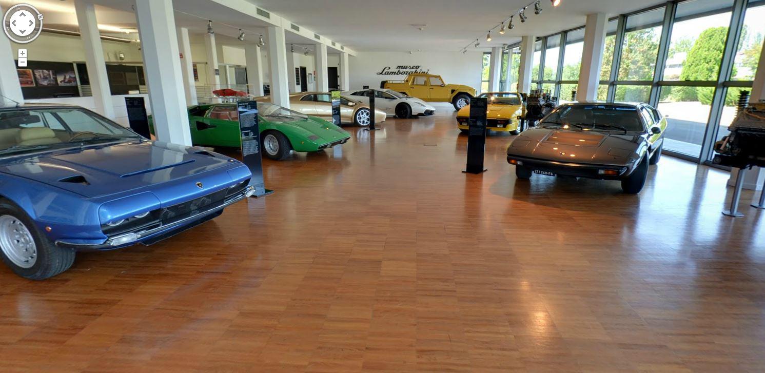 在家賞名車,Google 帶你暢遊藍寶堅尼博物館