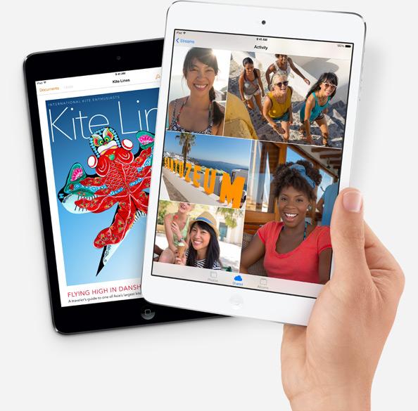 選購難題:iPad Air 與 iPad mini 2 到底差多少?