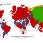 從全球地圖看世界各國最受歡迎的網站