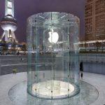上海 Apple Store 玻璃圓柱取得建築專利