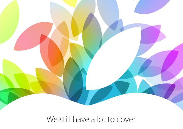 新 iPad 即將到來,蘋果發出 10 月 22 日發表會邀請函