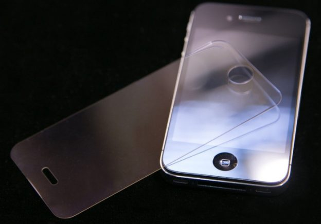iPhone cover with sapphire