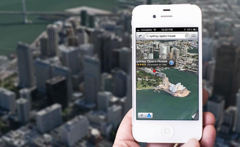 蘋果地圖讓 Google 地圖流失大量 iPhone 使用者