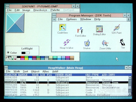 1990: Windows 3.0