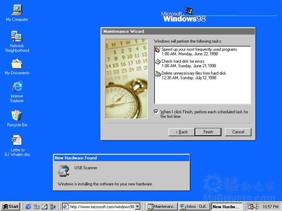1998: Windows 98
