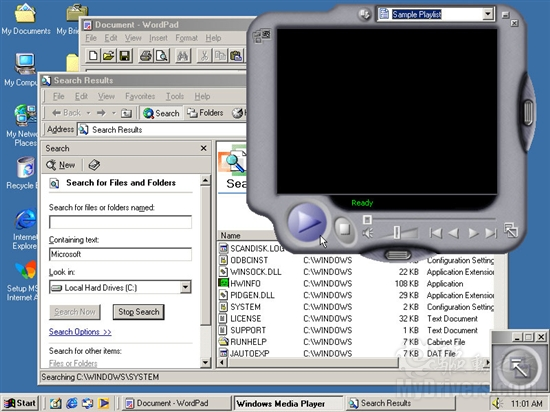 2000: Windows Me