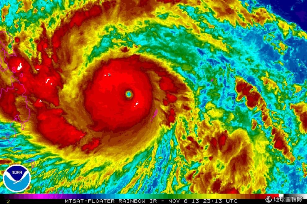 史上最強颱進逼菲律賓