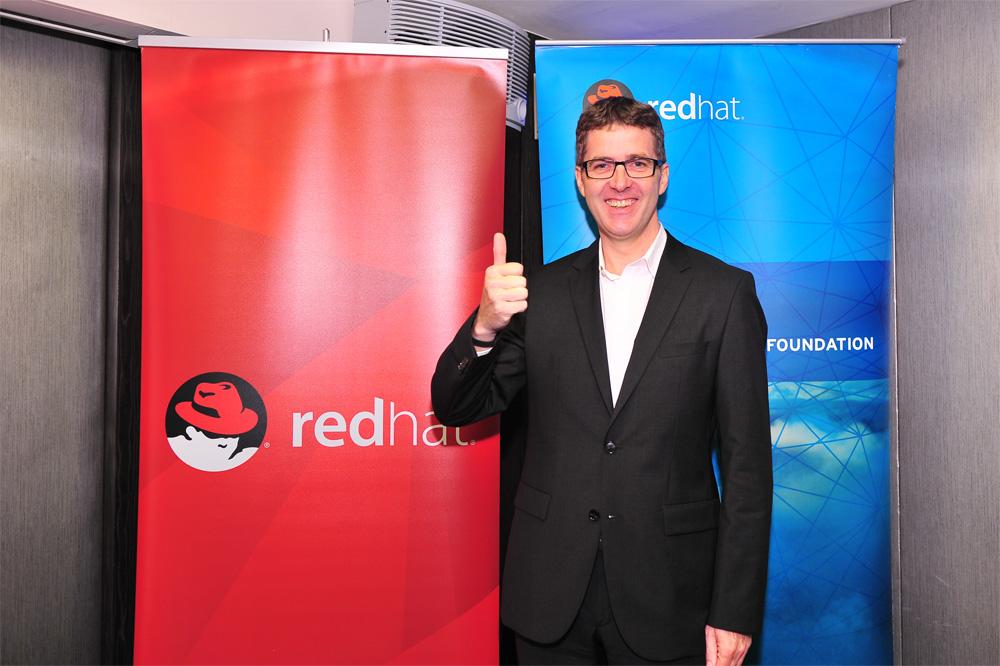 紅帽_亞太區副總裁暨總經理_Dirk-Peter van Leeuwen