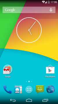 CyanogenMod_10_homescreen_screenshot