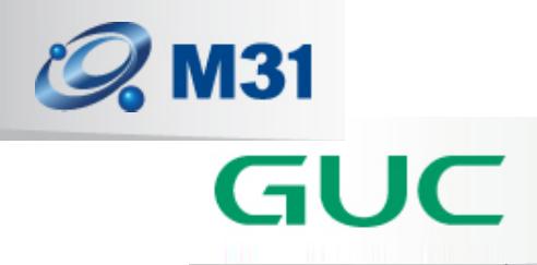 M31-GUC