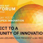 紅帽 Redhat :談開放原始碼軟體服務與亞太市場