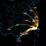 大數據直播中國春運流量
