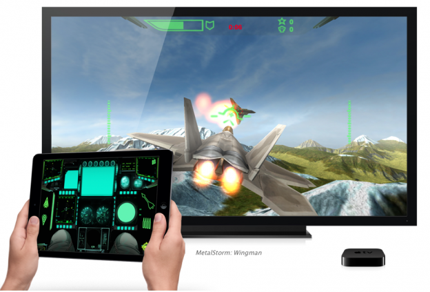 Apple TV in game