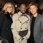 angela ahrendts with others