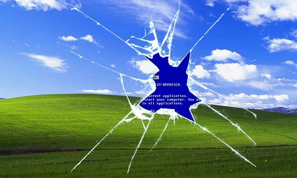 broken Windows XP
