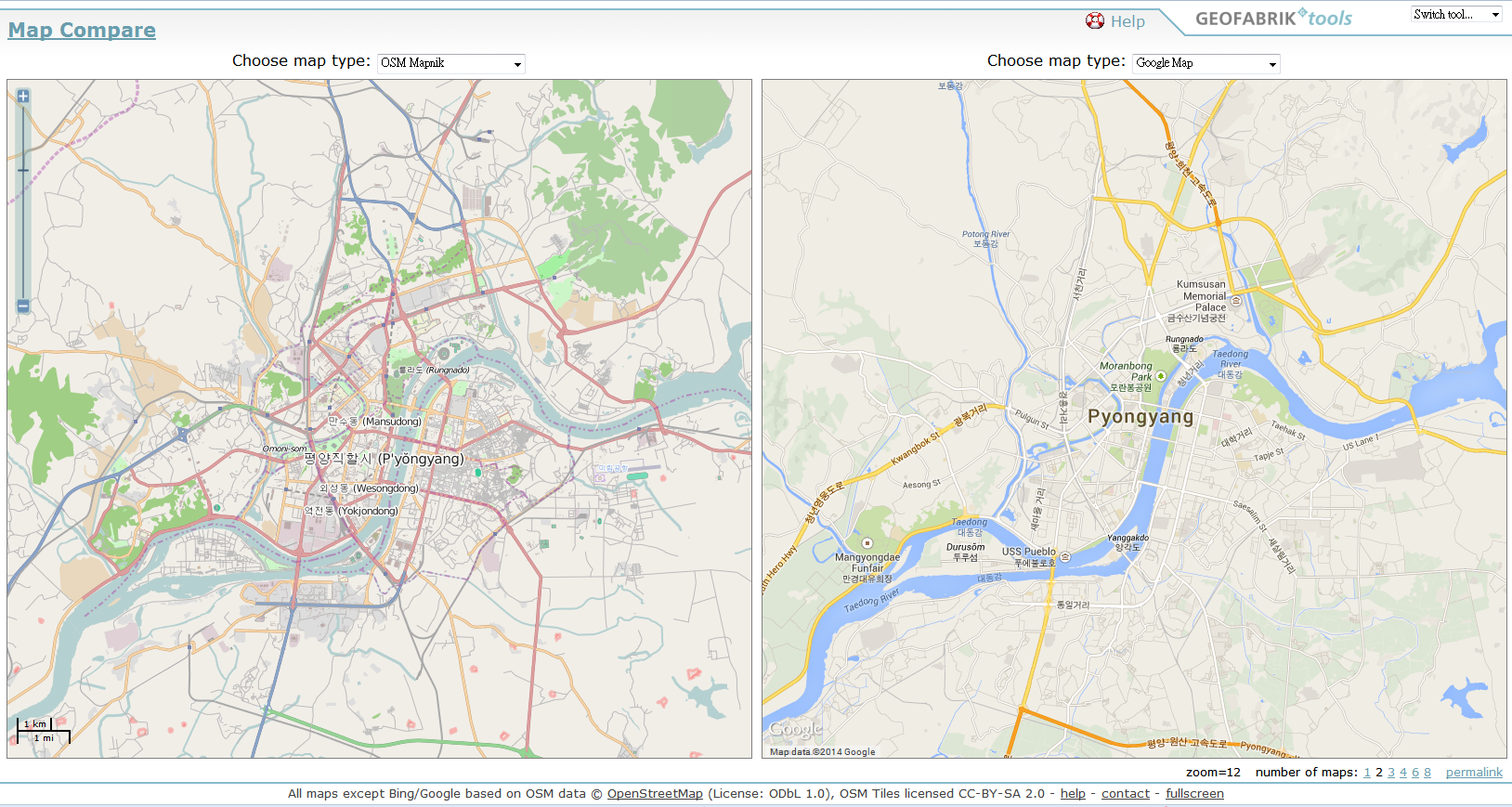 2014-02-26 15_16_20-Map Compare _ Geofabrik Tools