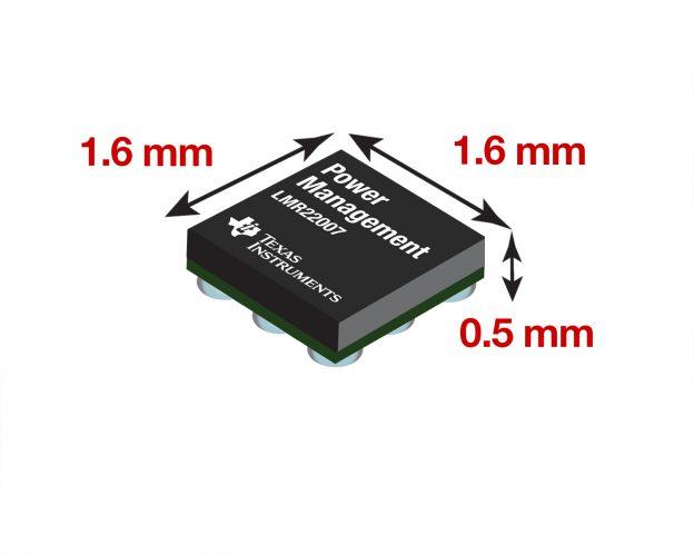 LMR22007 Chip Photo Dimensions