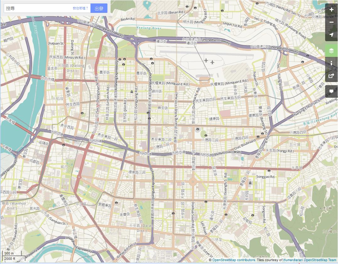 OpenStreetMap-HOT-Taipei