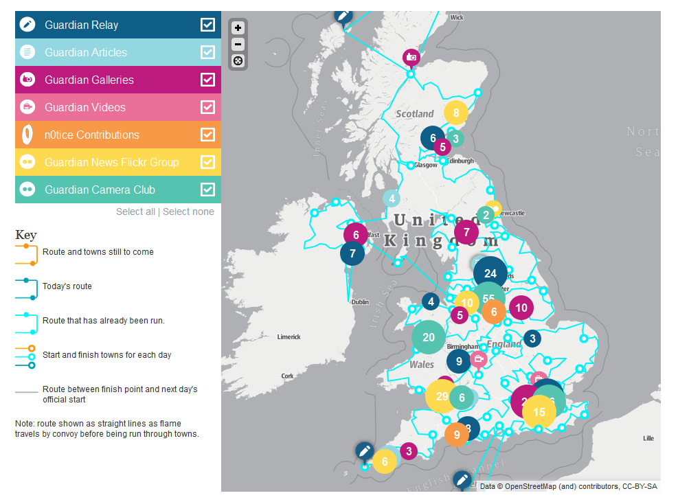 Olympic-torch-route- interactive-map-Sport-theguardian
