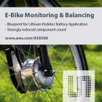 奧地利微電子為電動自行車鋰電池  提供降低成本的管理系統參考設計