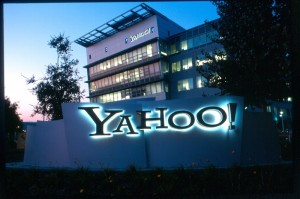 Yahoo! Sunnyvale headquarters.  October 28, 2001 (Y! Photo / Brian McGuiness)