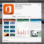 iPad 版微軟 Office 軟體大獲成功