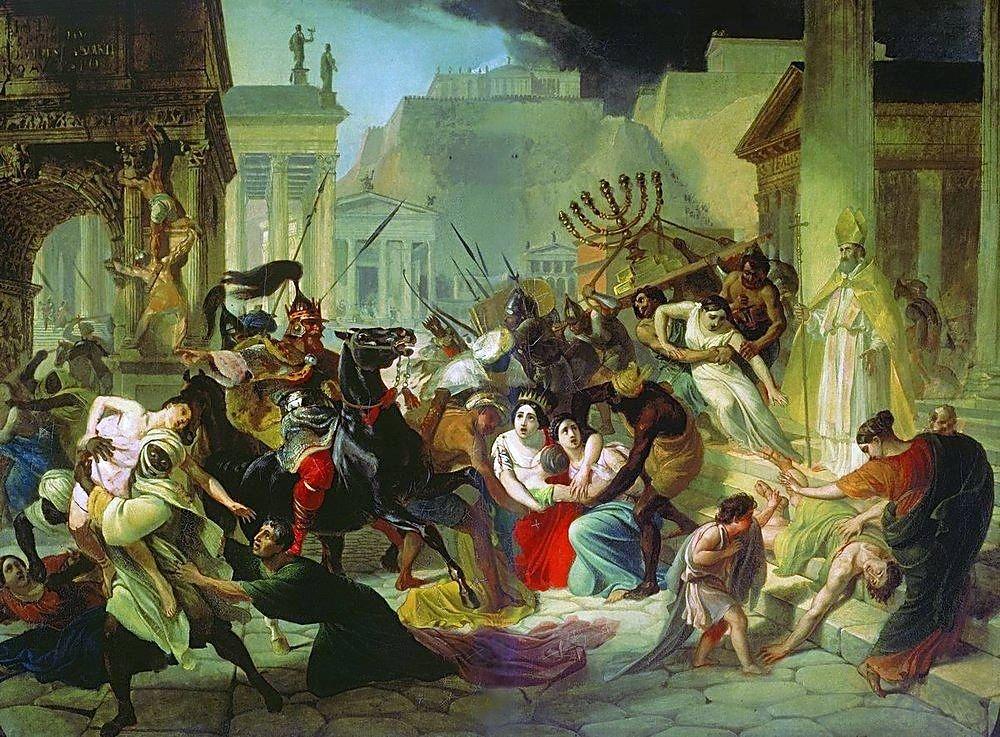 Genseric-sacking-Rome-455