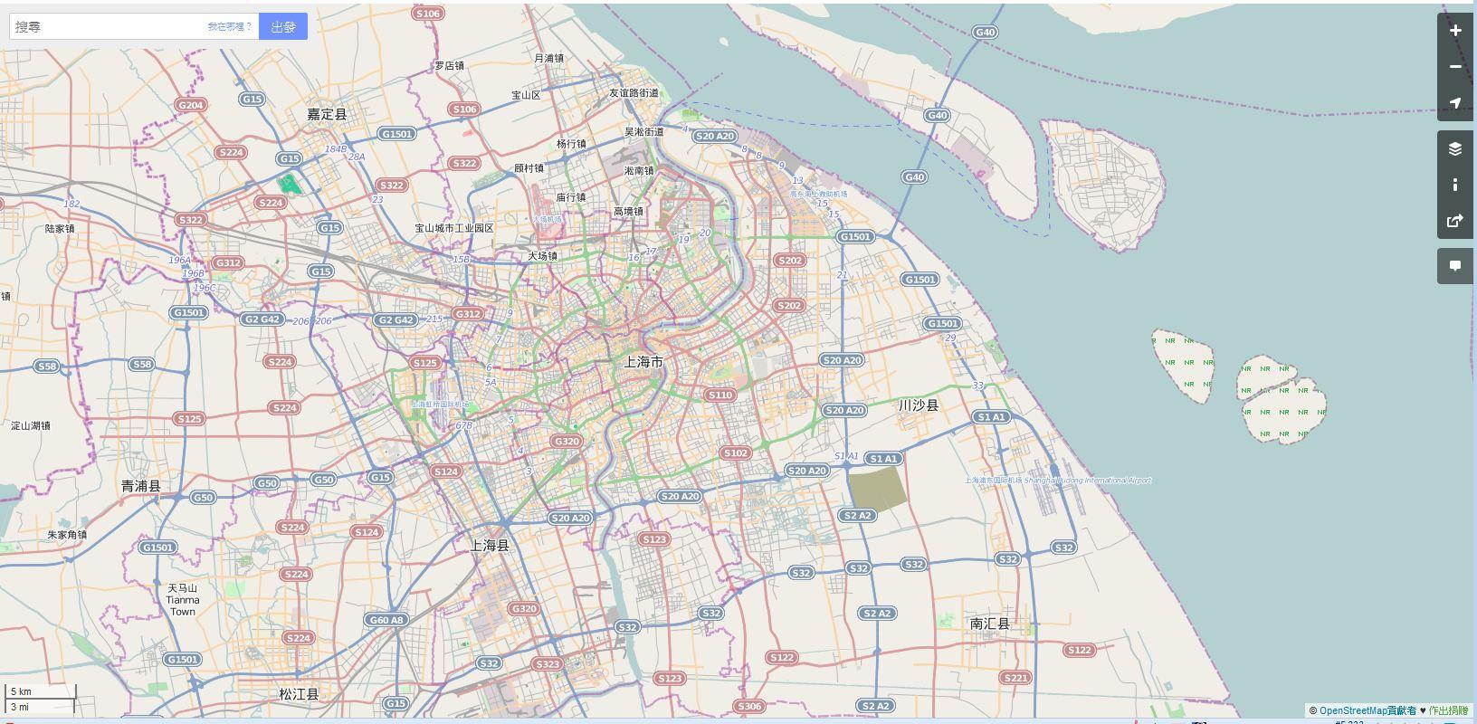 OpenStreetMap-shanghai