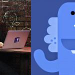 Facebook 發表吉祥物藍色小恐龍