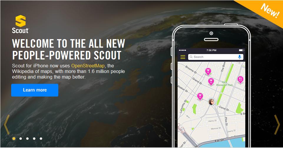 Telenav-scout-openstreetmap
