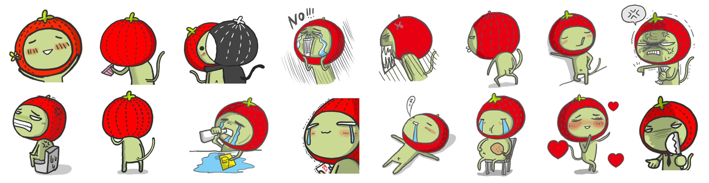WeChat新聞圖檔貼圖2_毛毛蟲