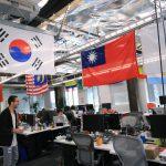 台灣國旗高高掛 臉書總部辦公室巡禮