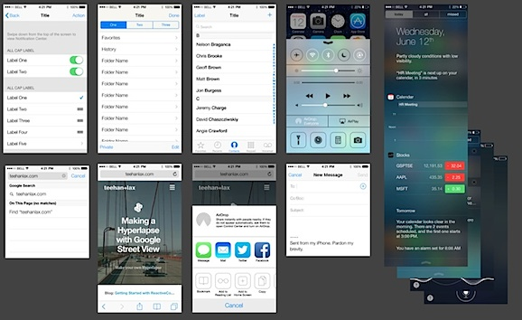 Ios Ui Design Templates
