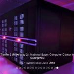 超級電腦 2014 上半年全球五百大排名:中國天河二號三度奪冠