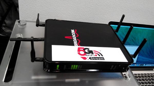 Broadcom 5G Wifi Stream